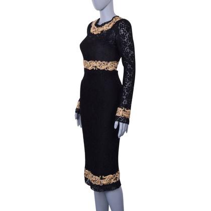 Dolce & Gabbana Jurk met borduurwerk