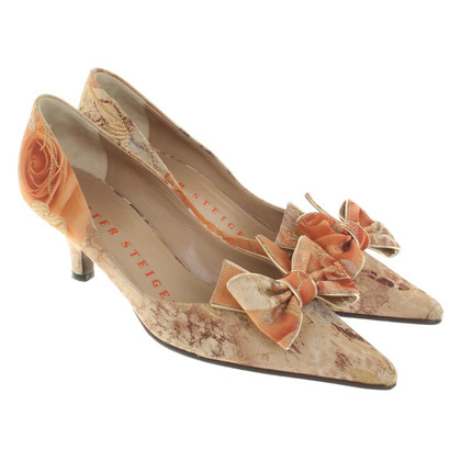 Walter Steiger pumps with floral pattern