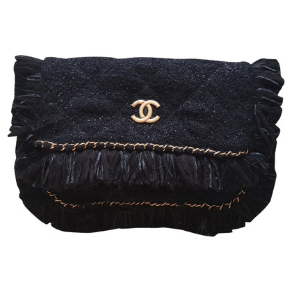 Chanel clutch from Tweed