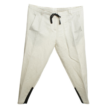 Ann Demeulemeester Summer trousers in beige