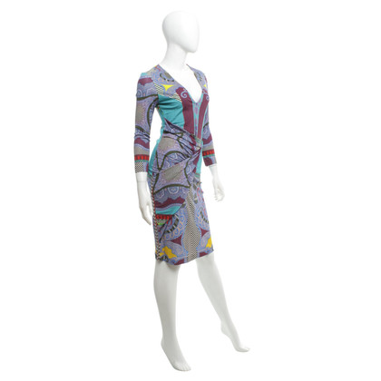 Etro Viscose jersey dress with print