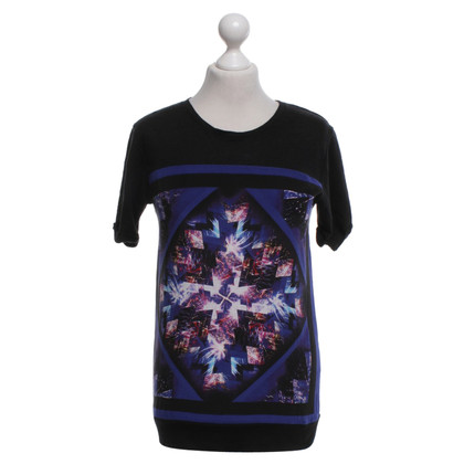 Sandro T-shirt in black / multicolor