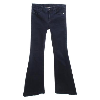 Stella McCartney Uitlopende jeans in donkerblauw