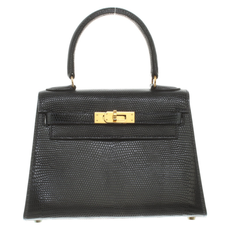 672dfdd4ea ... italy hermès kelly bag 20 made of lizard leather e4aca 000b1