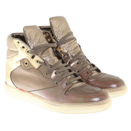 Balenciaga Sneakers in metallic look