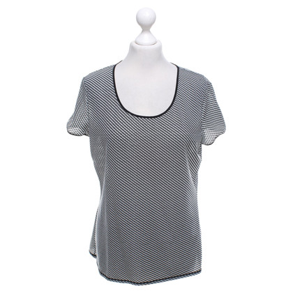 Armani T-shirt in zwart / wit