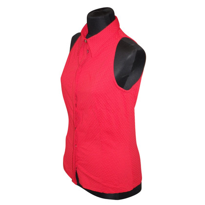 Versace Blusa in rosso