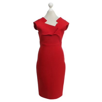 Roland Mouret Dress in red