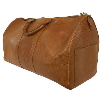 """Louis Vuitton """"Keepall 55 Epi Leather"""""""