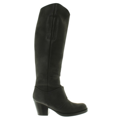 Acne Boots in zwart