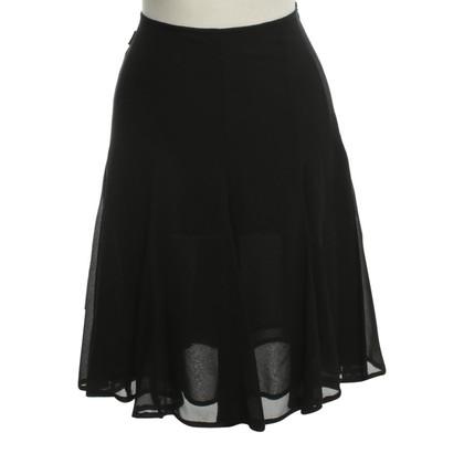 Moschino Chiffon-rok in zwart