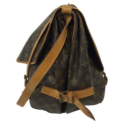 "Louis Vuitton ""Saumur 43 Monogram Canvas"""
