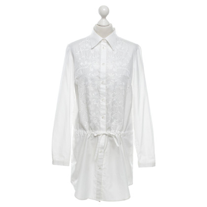 Bogner Shirt Dress in White