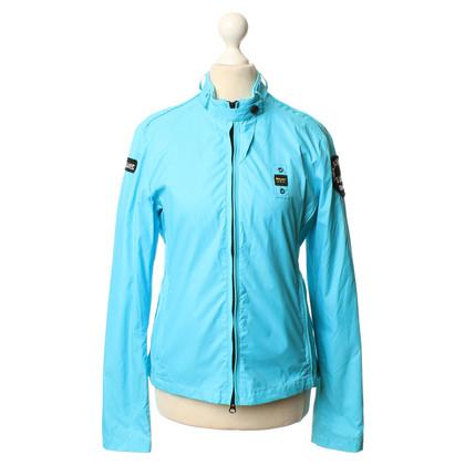 Blauer USA Jas turquoise