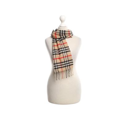 Burberry Plaid kasjmier sjaal
