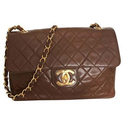 """Chanel """"Jumbo Flap Bag"""" in Braun"""