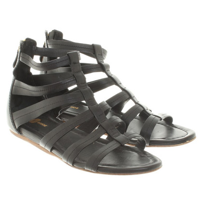 Car Shoe Sandalen in Schwarz