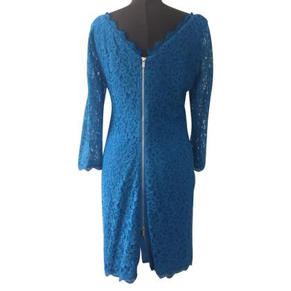 """Diane von Furstenberg Kanten jurk """"Zarita"""""""
