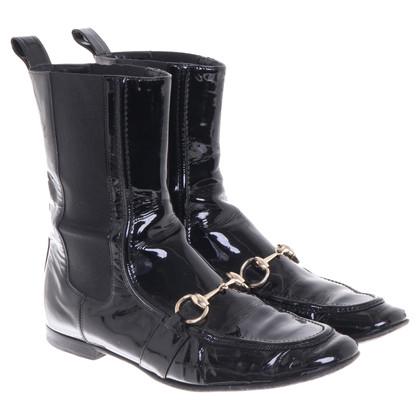 Gucci Boots van lakleder
