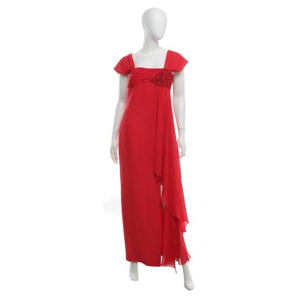 Escada Avond jurk in rood