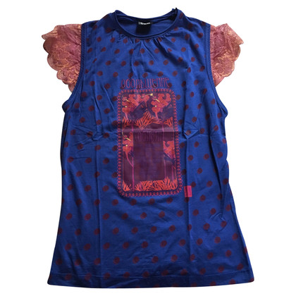 D&G Top blue with off