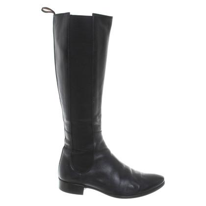 Santoni Boots in black