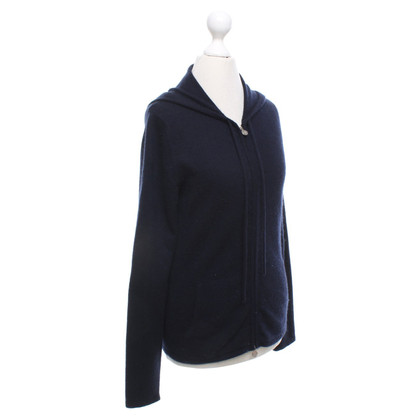 Allude Cashmere cardigan in blue