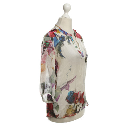 Reiss Blouse with floral print