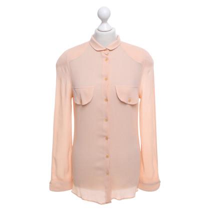 Giorgio Armani Silk blouse in Nude