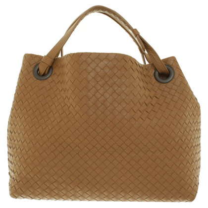 Bottega Veneta Handtas in Caramel Color