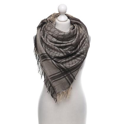 Gucci Sjaal met zilveren elementen