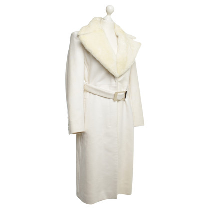 Gucci Coat in Off-White