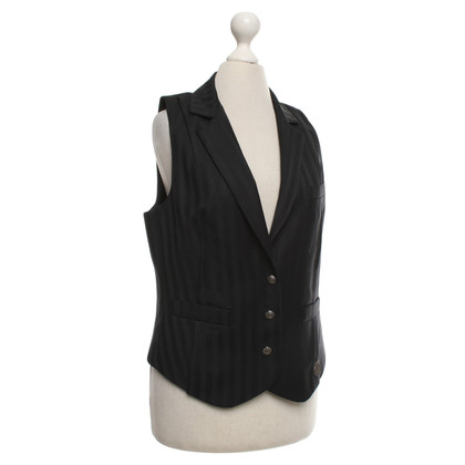 John Galliano Vest in black