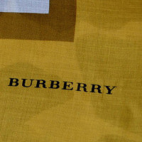 Burberry panno XXL con il contenuto di seta