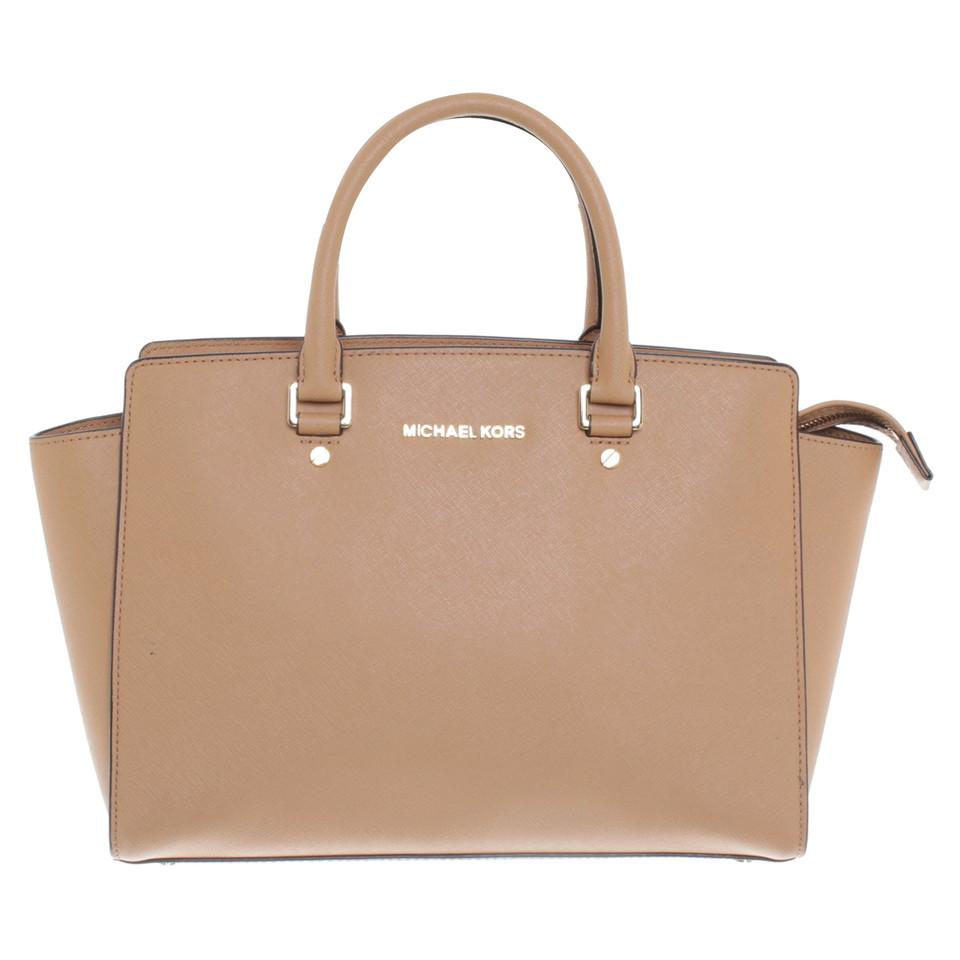michael kors handtasche in beige second hand michael kors handtasche in beige gebraucht kaufen. Black Bedroom Furniture Sets. Home Design Ideas