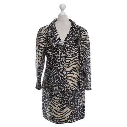 Dolce & Gabbana Kostüm mit Animal-Print