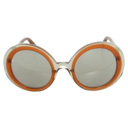 Jil Sander Occhiali da sole con forma rotonda lente