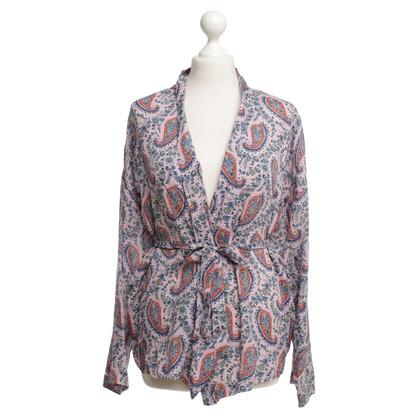 Set Jacket with paisley pattern