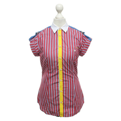Dsquared2 top with stripe pattern