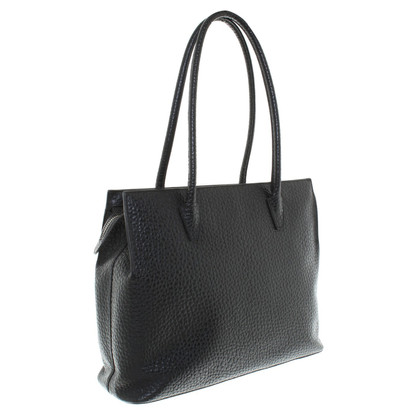Jil Sander Shoulder bag in black