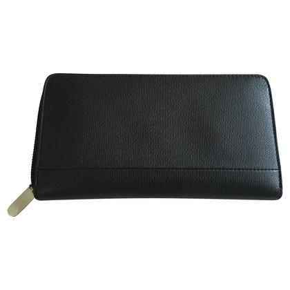 Tiffany & Co. Porte-monnaie noir avec zip