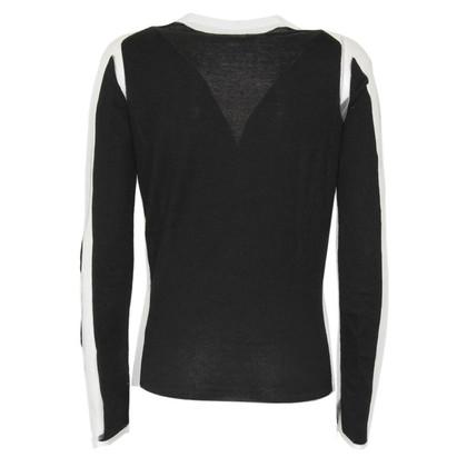 Alexander McQueen Semi-transparante T-shirt