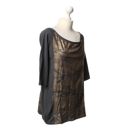 Pinko top with camouflage patterns
