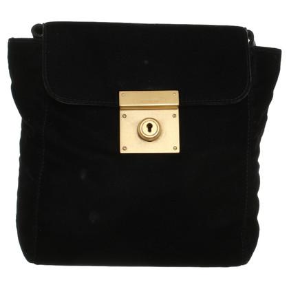 Jil Sander Shoulder bag made of velvet