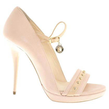 Versace High Heels in Nude