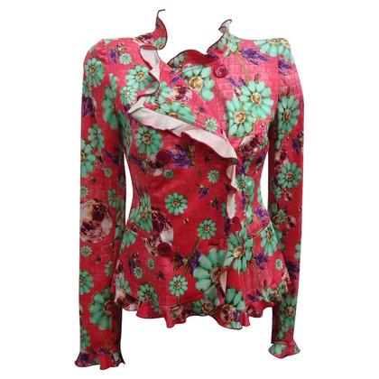 Emanuel Ungaro Floral jacket
