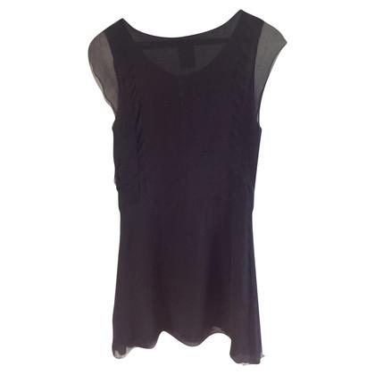 Chloé Zwarte zijden jurk
