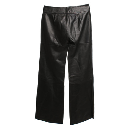 Dolce & Gabbana Leather pants in black