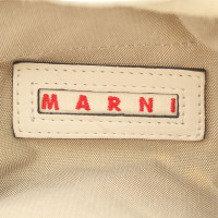 Marni Cream-colored leather handbag