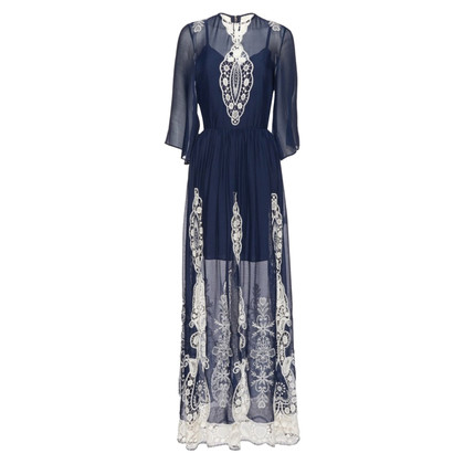 Alice + Olivia Chiffon maxi dress
